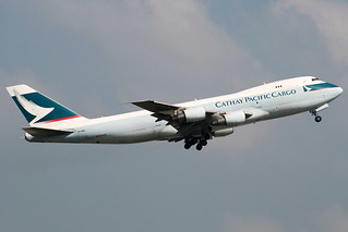 Cathay Pacific Cago (CX/CPA) / 747-2L5B(SF) / B-HME / 09-28-2007 / HKG | by Mohit Purswani