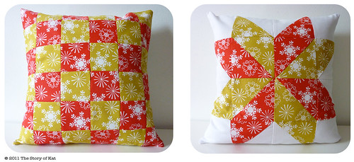 Christmas Pillows | by thestoryofkat