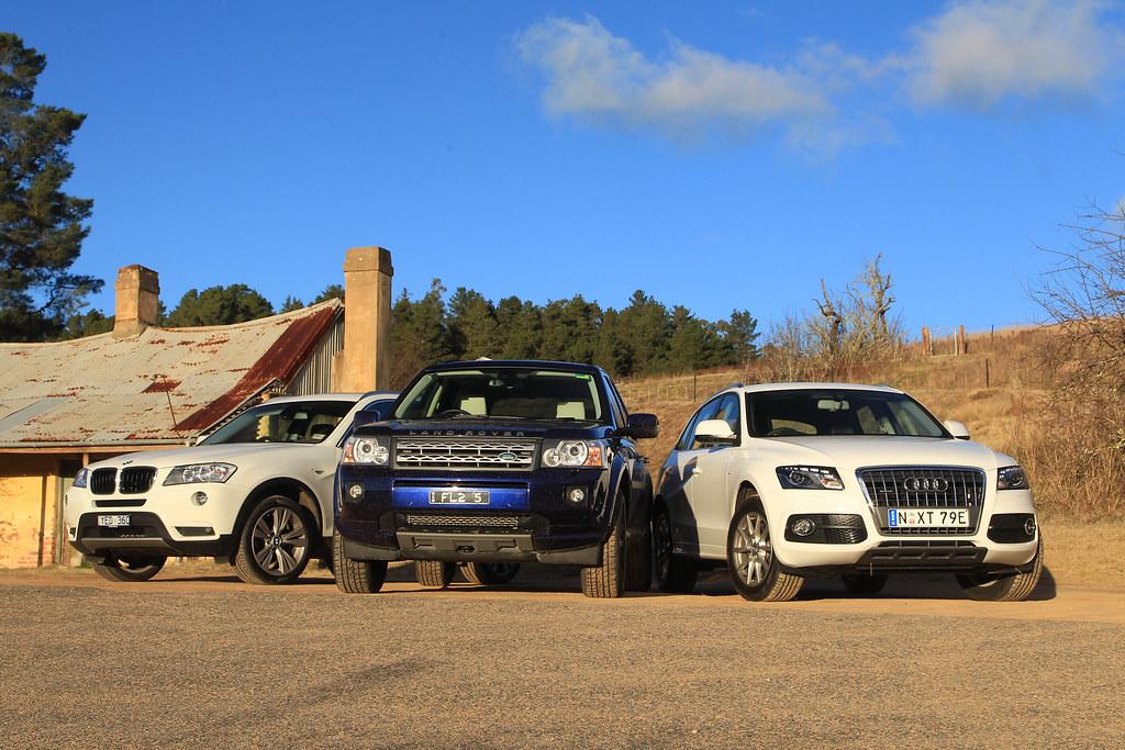 Audi Q5 Vs BMW X3 Vs Land Rover Freelander 2  Comparison   Flickr