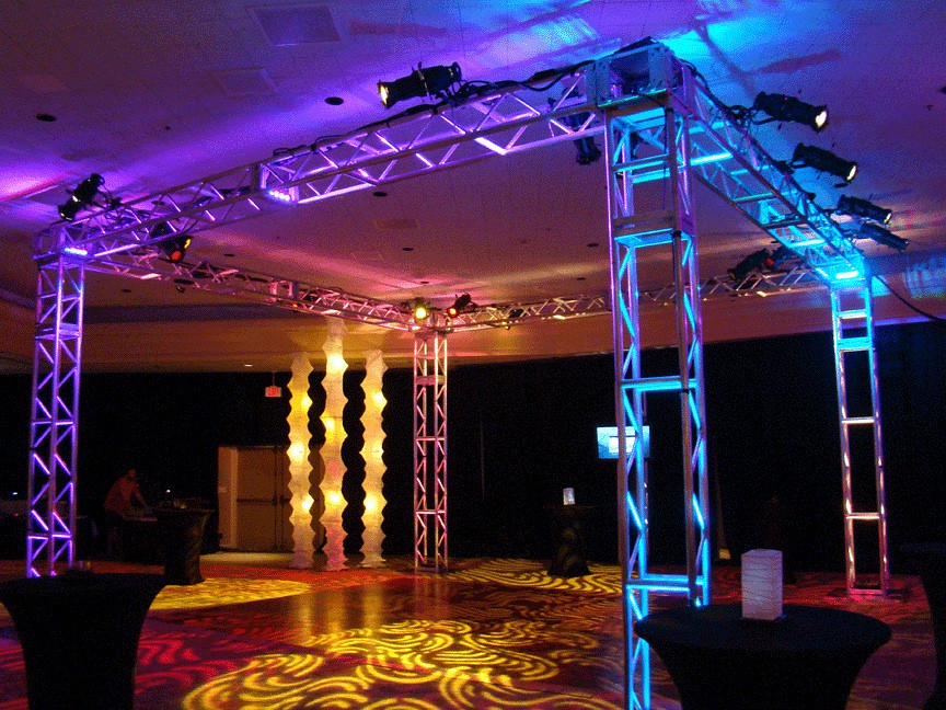 ... Nightclub Lighting Box Truss | by Envisions Entertainment & Nightclub Lighting Box Truss | Envisions Entertainment | Flickr