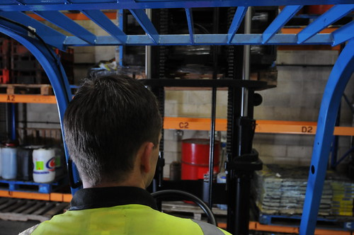Hands on Forklift Driver Training and OSHA Certification