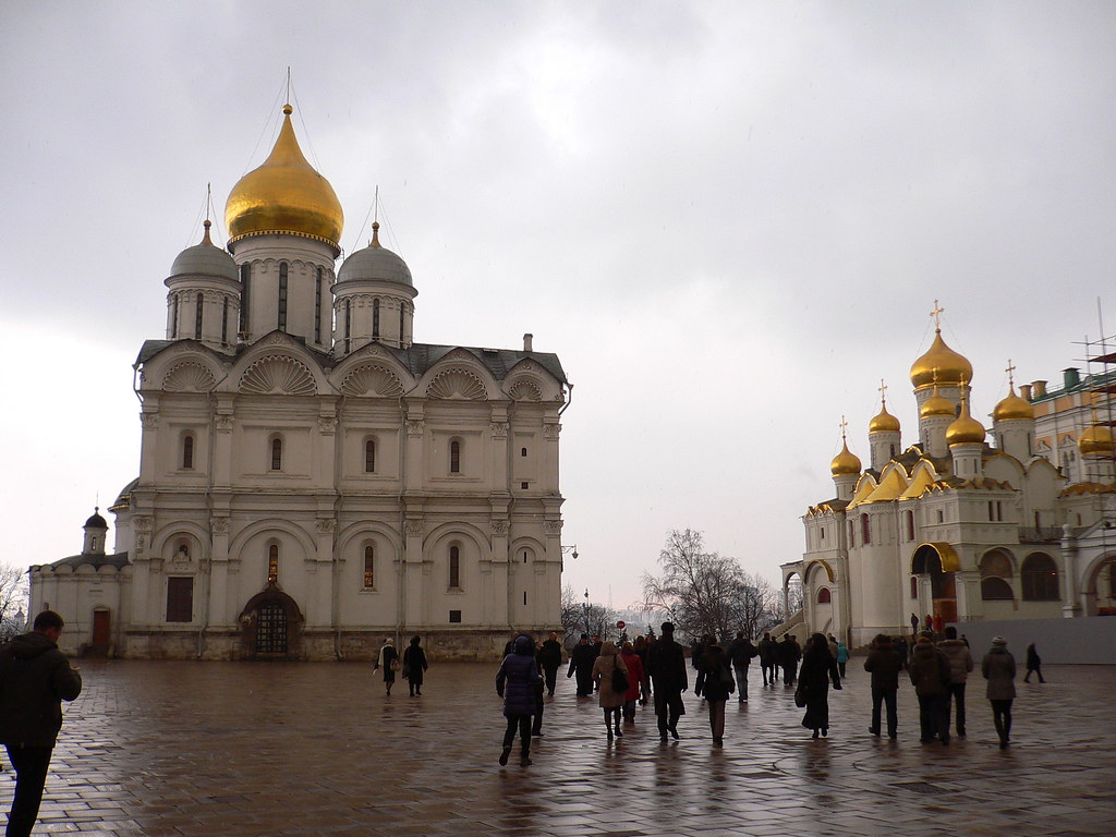 What did the medieval center of Moscow look like?