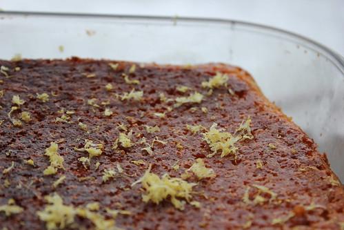 Lemon Drizzle Cake Cream Filling