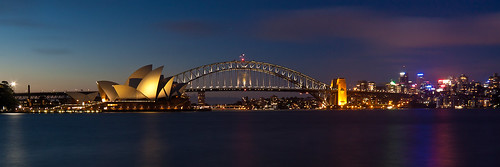 Sydney Harbour at night | by lights+shades