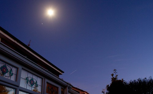 Jupiter, Moon & ISS - 2/1/2012 | by purpleface