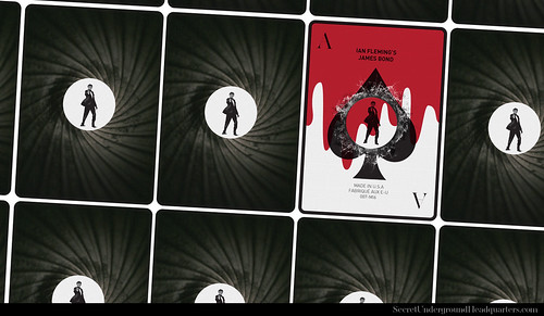 James Bond Playing Card Collection - The Ace of Spades | by Joe D!