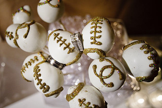 Football and Chanel Cake Pops | by Sweet Lauren Cakes