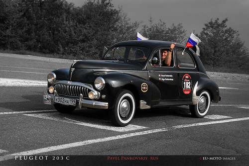 Peugeot 203 C Mille Miglia Pankovskiy ► All kinds of commercial usage are illegal ! ► Copyright B. Egger :: eu-moto images classic cars 3480 2 | by :: ru-moto images