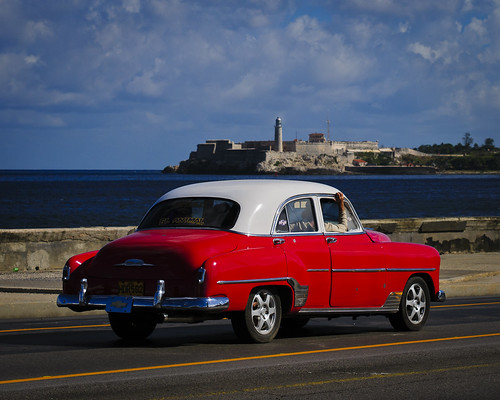 Red car Malecon cruise Havana | by redeyesatdawn