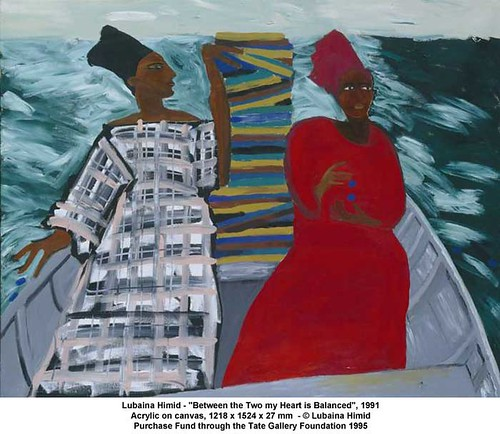 "Lubaina Himid - ""Between the Two my Heart is Balanced"", 1991 