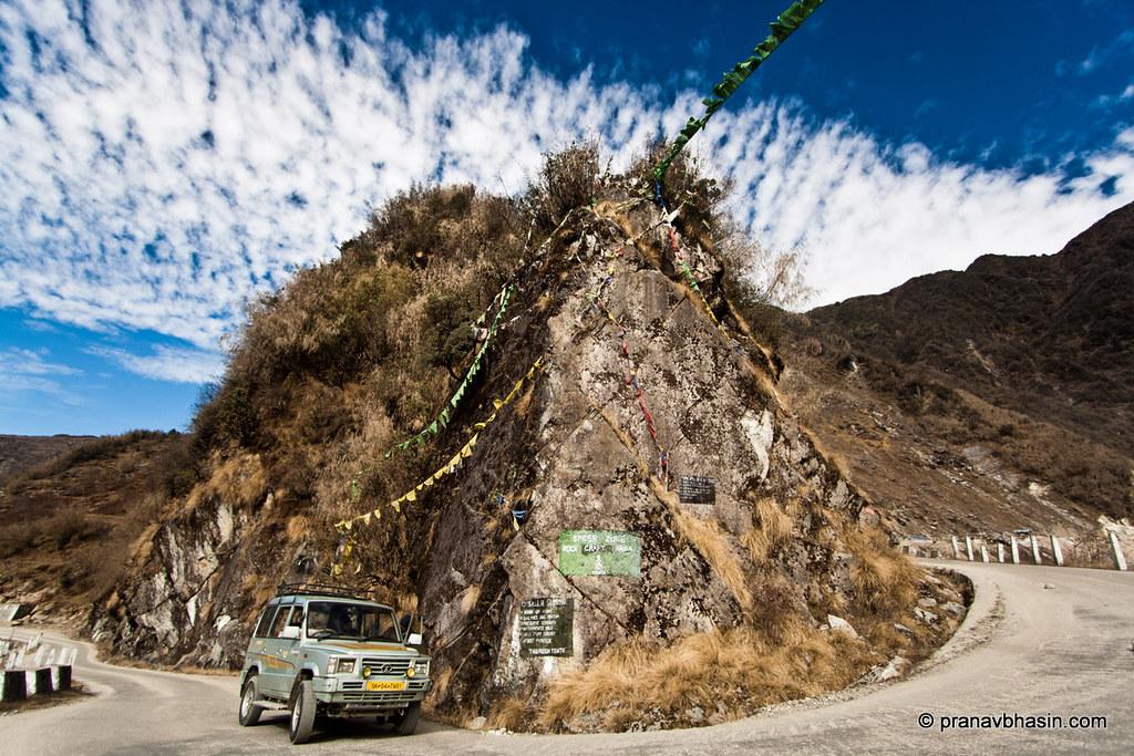 Road to Gangtok