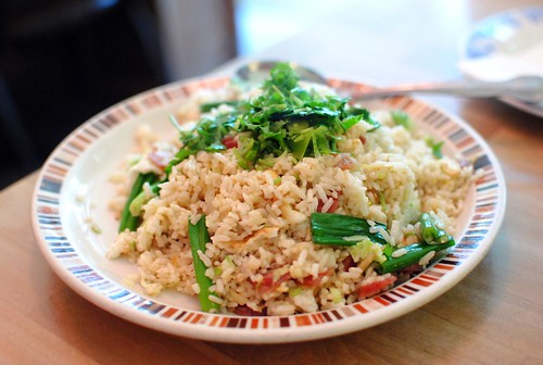 salt cod fried rice | by Darin Dines