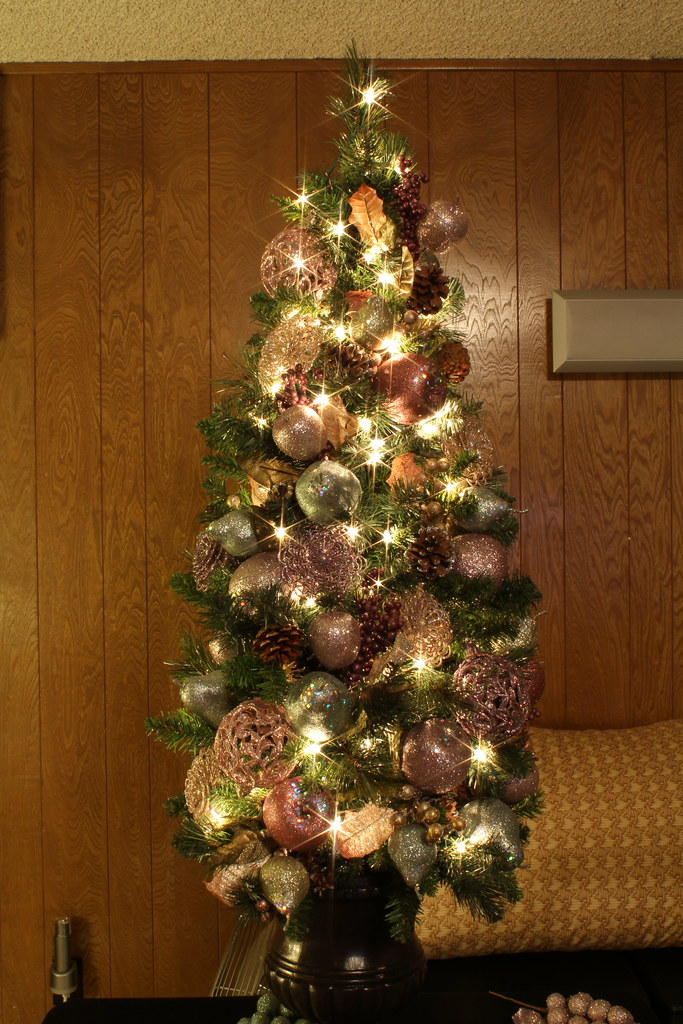 4 Foot Glittered and Jeweled Themed Christmas Tree | Flickr