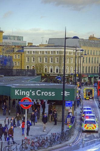 Busy London King's Cross | by yorkshire stacked