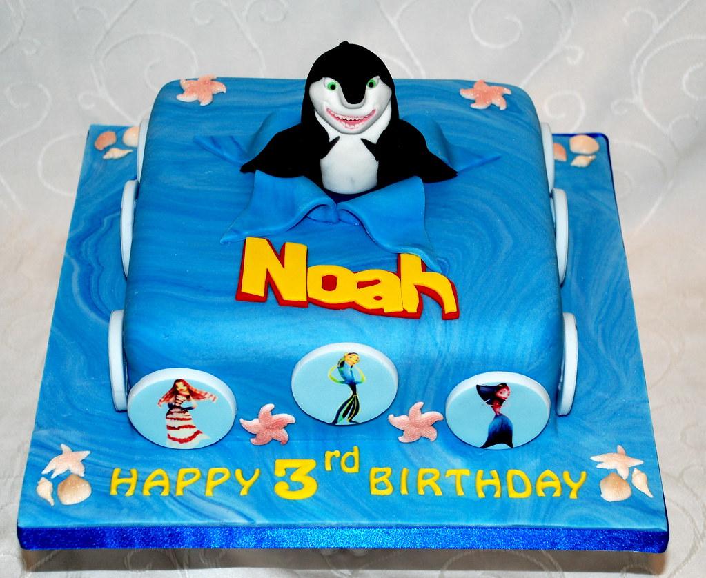 Shark Tale Cake Green Bonnett Cake Company Flickr