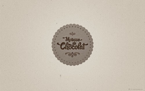 SUDTIPOS »Candy Script« Mousse Au Chocolat (for widescreen displays) | by arnoKath