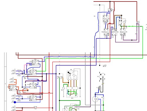 Wiring Diagram For The Dimdip System Fitted To Reliant Sst U2026