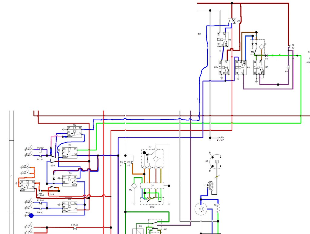 wiring diagram for the dimdip system fitted to reliant sst\u2026 flickrwiring diagram for the dimdip system fitted to reliant sst and sabre by mateybass