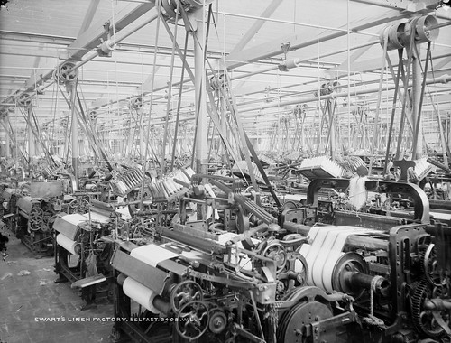 Ewart's Linen Factory | by National Library of Ireland on The Commons