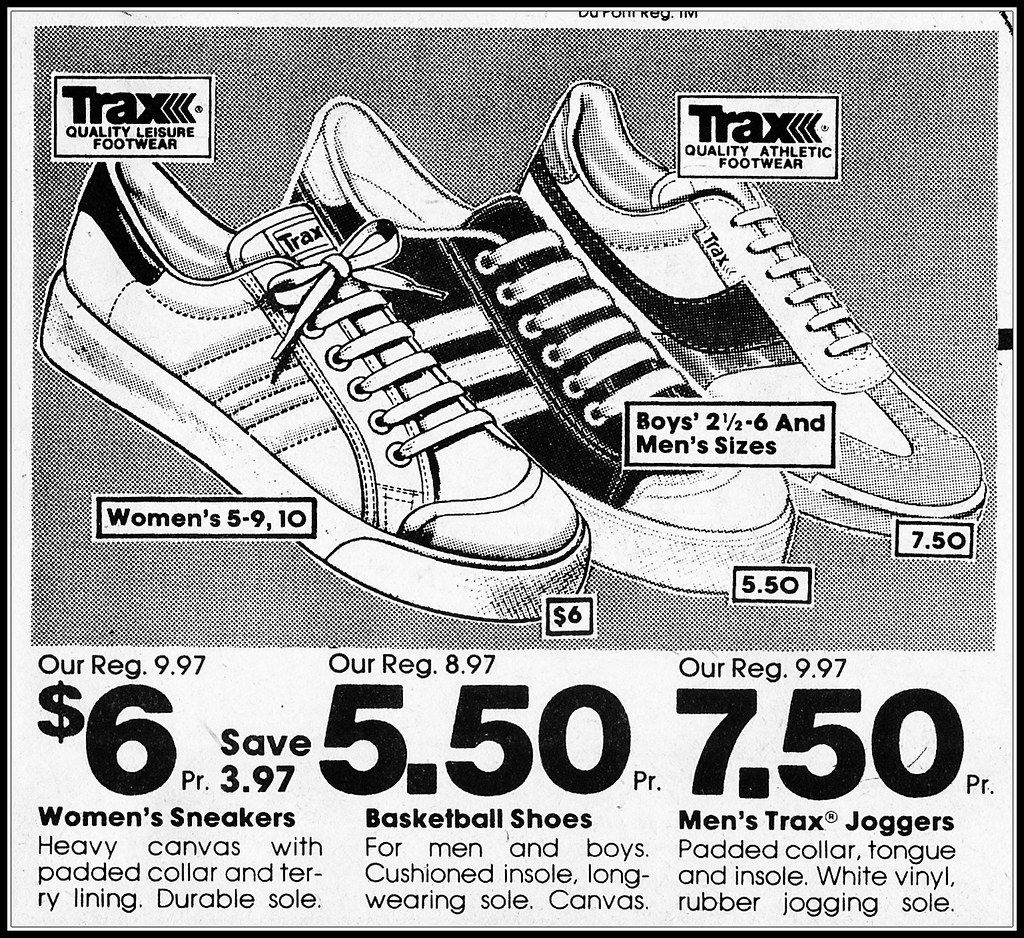 K mart trax sneakers 1982 last ad of my holiday special flickr k mart trax sneakers 1982 by backyard woods explorer gumiabroncs Choice Image