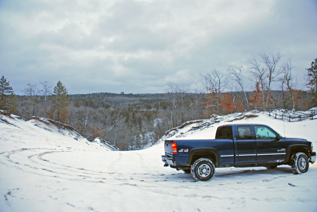 Bull Gap Mio Michigan The Duramax On Top Of The Hill Flickr