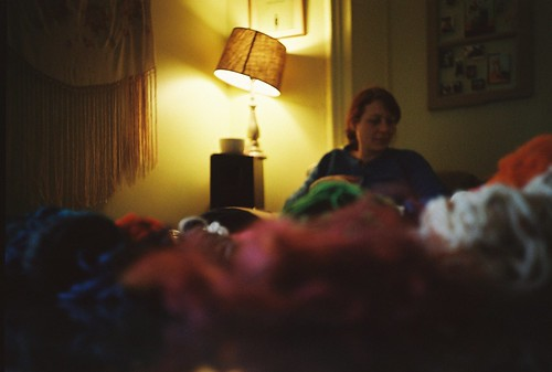 katie, at home | by Amy Fichter