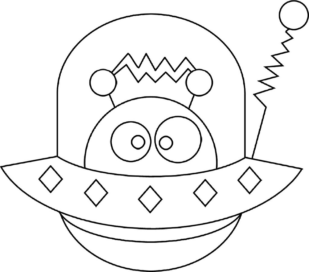colour it yourself aliens flickr
