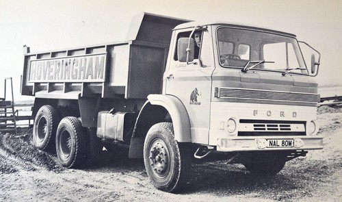 1973 Ford D Series 6 Wheeled Tipper | by colinfpickett
