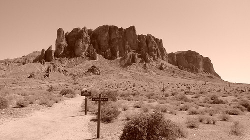 Superstition Mountains | by Ca Horowitz