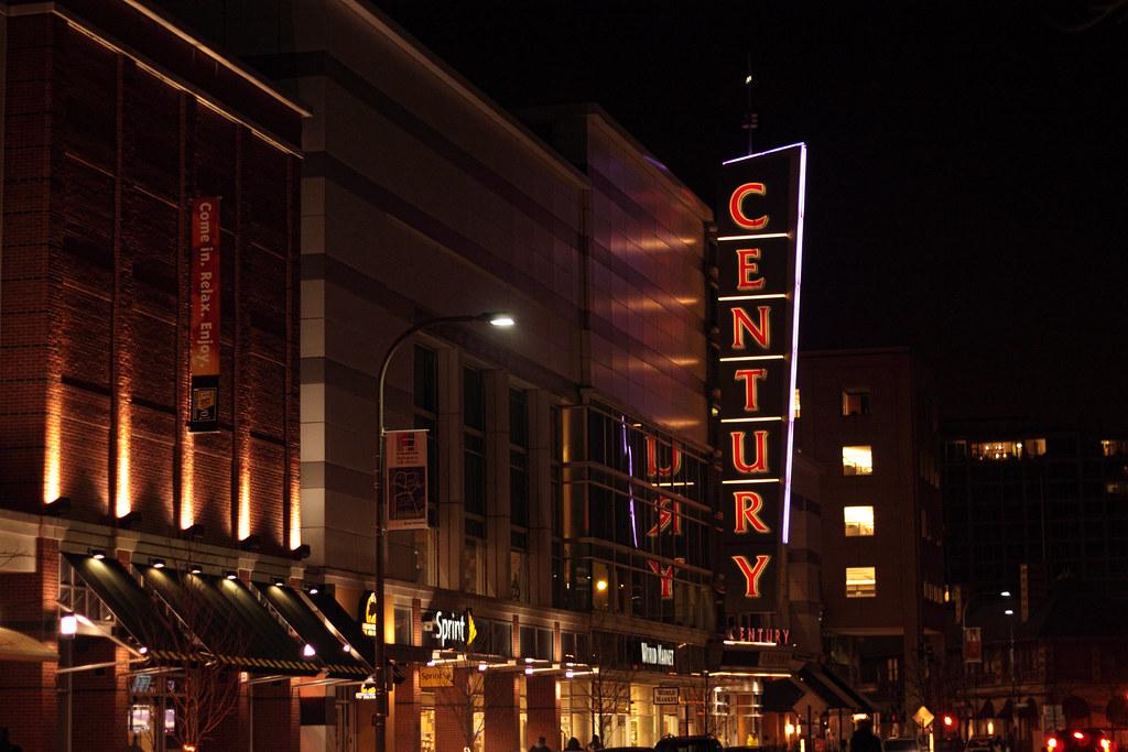 Day 33 - Century Cinema, Evanston | So I am probably the las… | Flickr