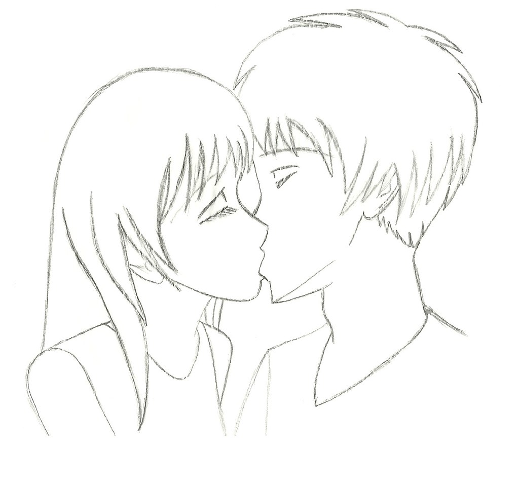 How to draw people kissing tutorial cpia de um tutorial d flickr how to draw people kissing tutorial by luna witcher ccuart Choice Image