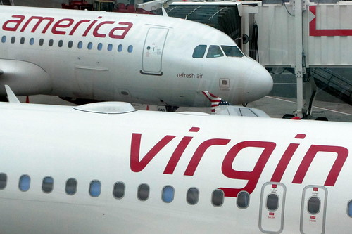 Virgin America A320's | by tearbringer