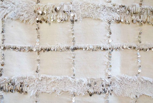 Vintage Moroccan wedding blanket detail 651 | by moroccanmaryam