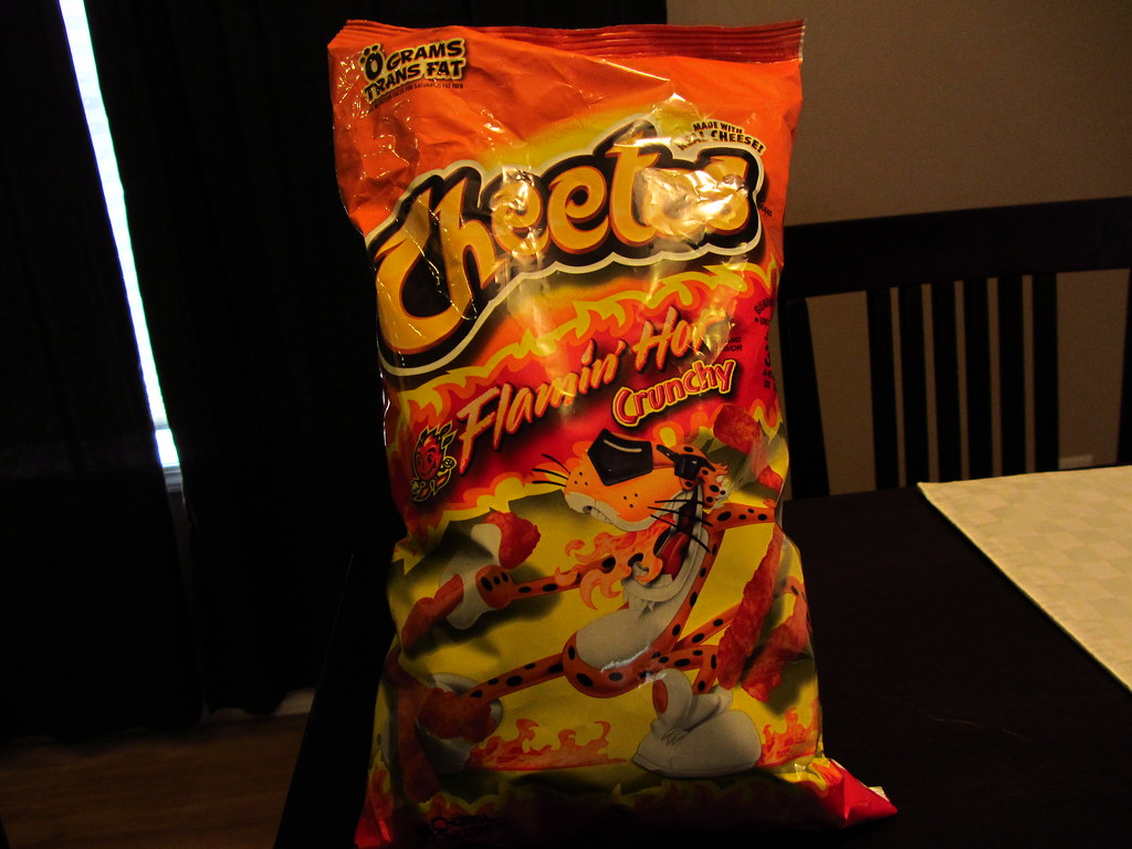 Image result for hot cheetos