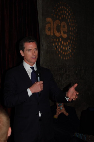 CA Lieutenant Governor Gavin Newsom | by acespace