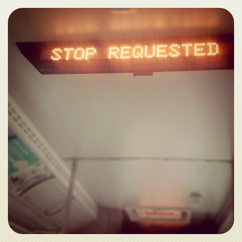 Stop Requested | by Question Josh? - SB/DSK