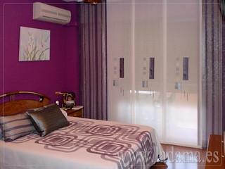 Decoraci n para dormitorios modernos cortinas en barra e flickr - Estores para habitaciones ...