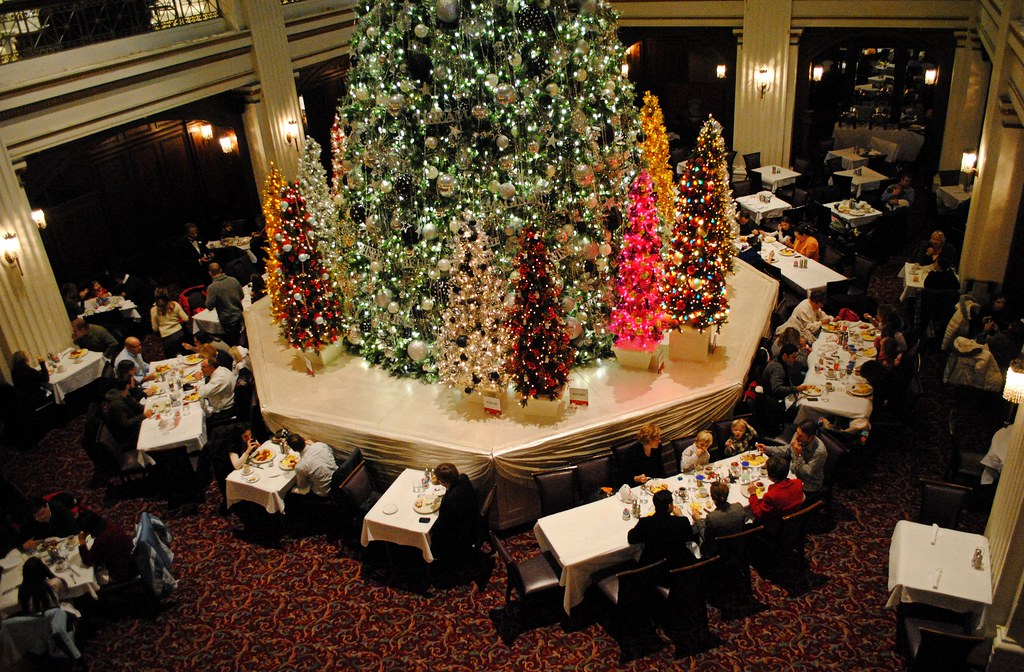Walnut Room at Macy\'s (Marshall Fields) State St. Chicago.… | Flickr