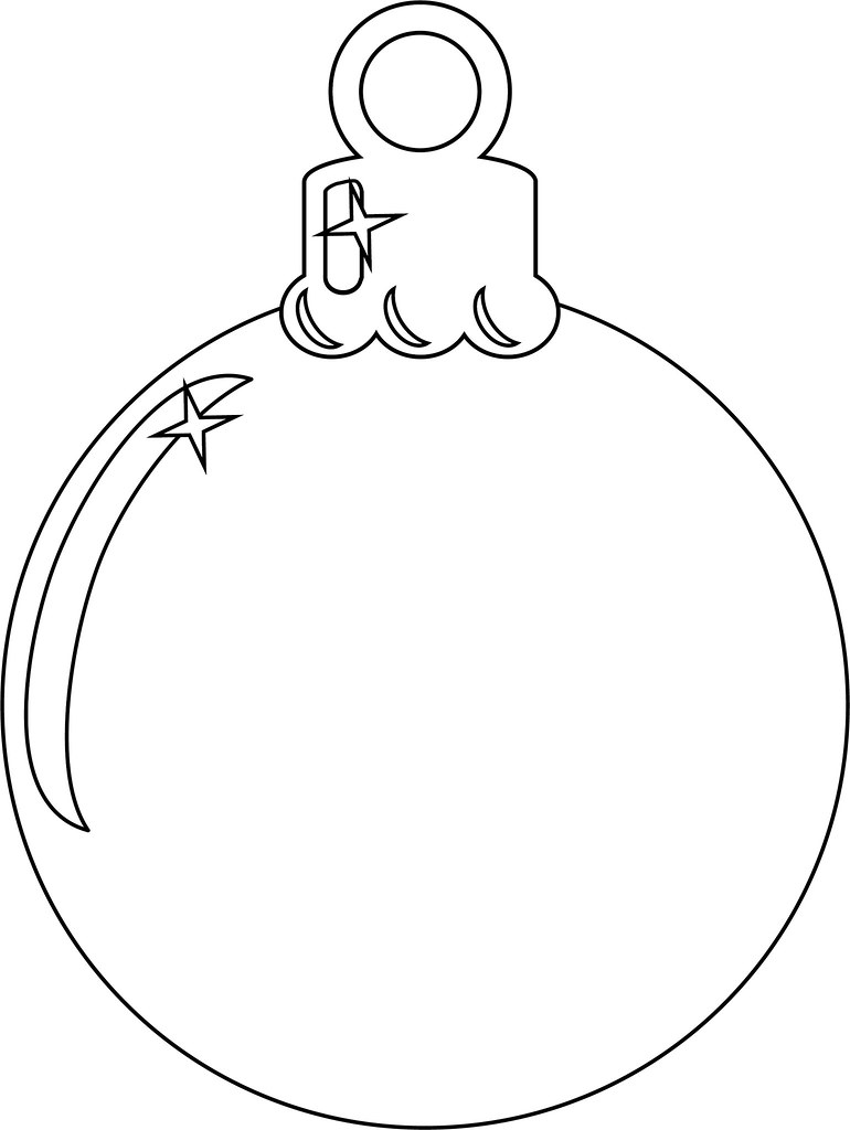 Christmas Ornament | Add your own colours! Feel free to prin… | Flickr