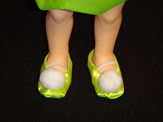 Disney Parks Fairy Tale Beginnings Little Tinker Bell 16'' Toddler Doll - Deboxed - Lower Legs and Shoes | by drj1828