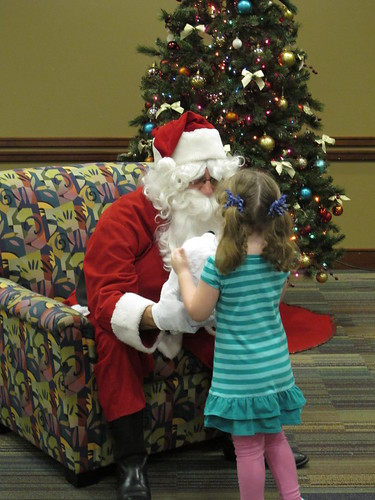 Santa at the Library 2011 | by taylor library