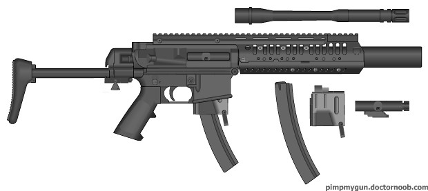Ar 15 9mm Conversion Conversion Kit For The Ar 15 Family T Flickr