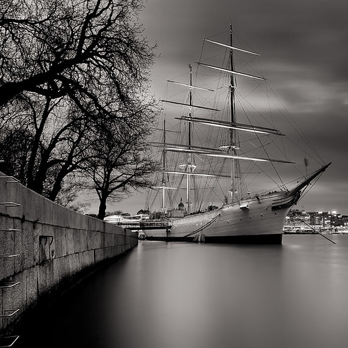 Smooth Sailing Into the Harbor Of Dreams (Night version).. | by Peter Levi