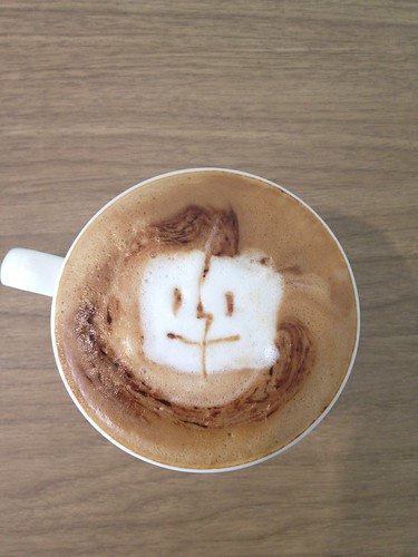 Today's latte, Mac OS... it's a little childish. | by yukop