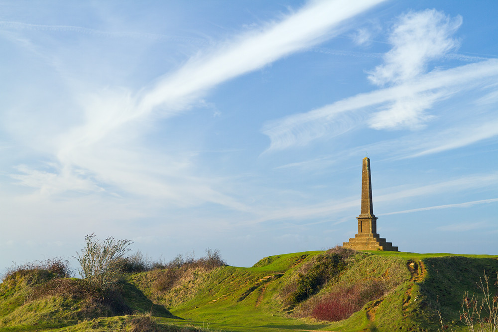 The War Memorial at Ham Hill Country Park