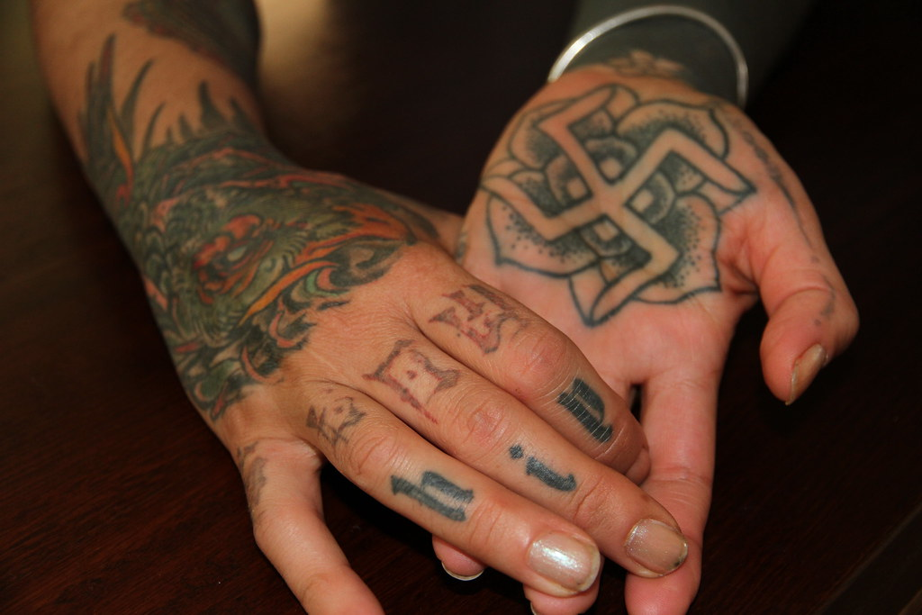 Tattoos Of Ancient Buddhist Symbols Tattoo Imagery Of Anci Flickr