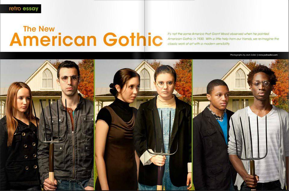 New American Gothic Essay  Josh Sailor  Flickr  New American Gothic Essay  By Josh Sailor