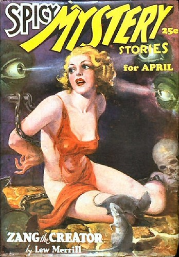 149a Spicy Mystery Stories Apr-1936 Includes Pit of Madness by E. Hoffmann Price | by CthulhuWho1 (Will Hart)