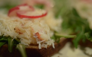 January 31st - Crab & Raddish Salad on Toast | by The Hungry Cyclist