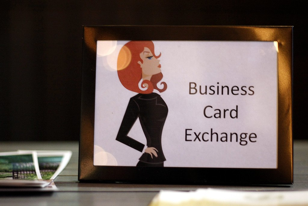 Business Card Exchange | No More Nylons event at Lure on Nov… | Flickr